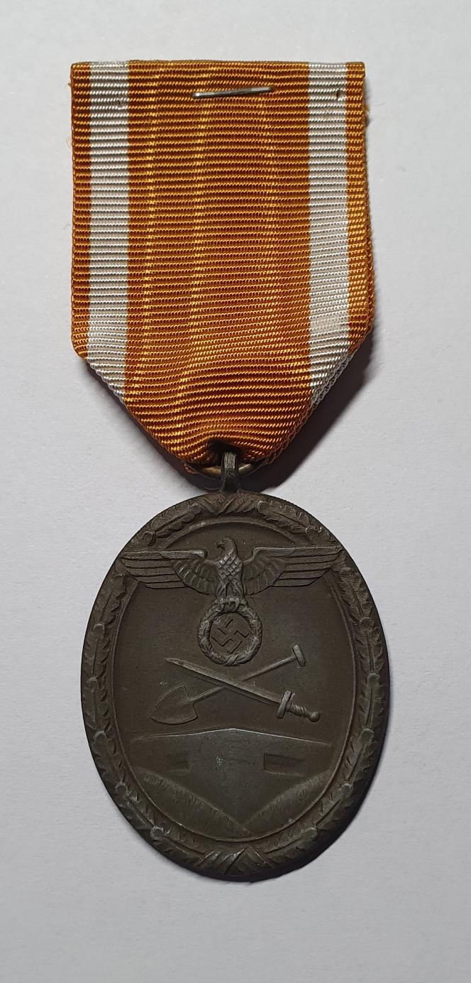 Deutsche Schutzwall-Ehrenzeichen – Westwall Medaille